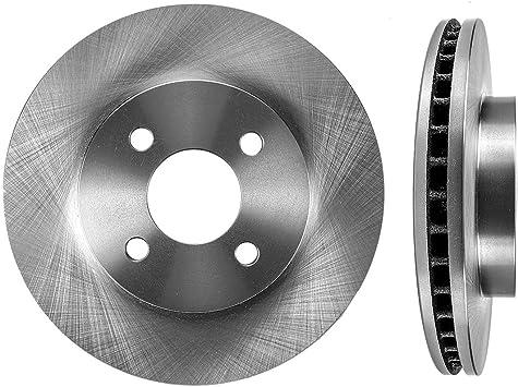 2 FRONT Premium Grade OE 256mm 4 Lug Rotors Set CBO200108 for Chevrolet Cobalt Saturn ION Pontiac G5