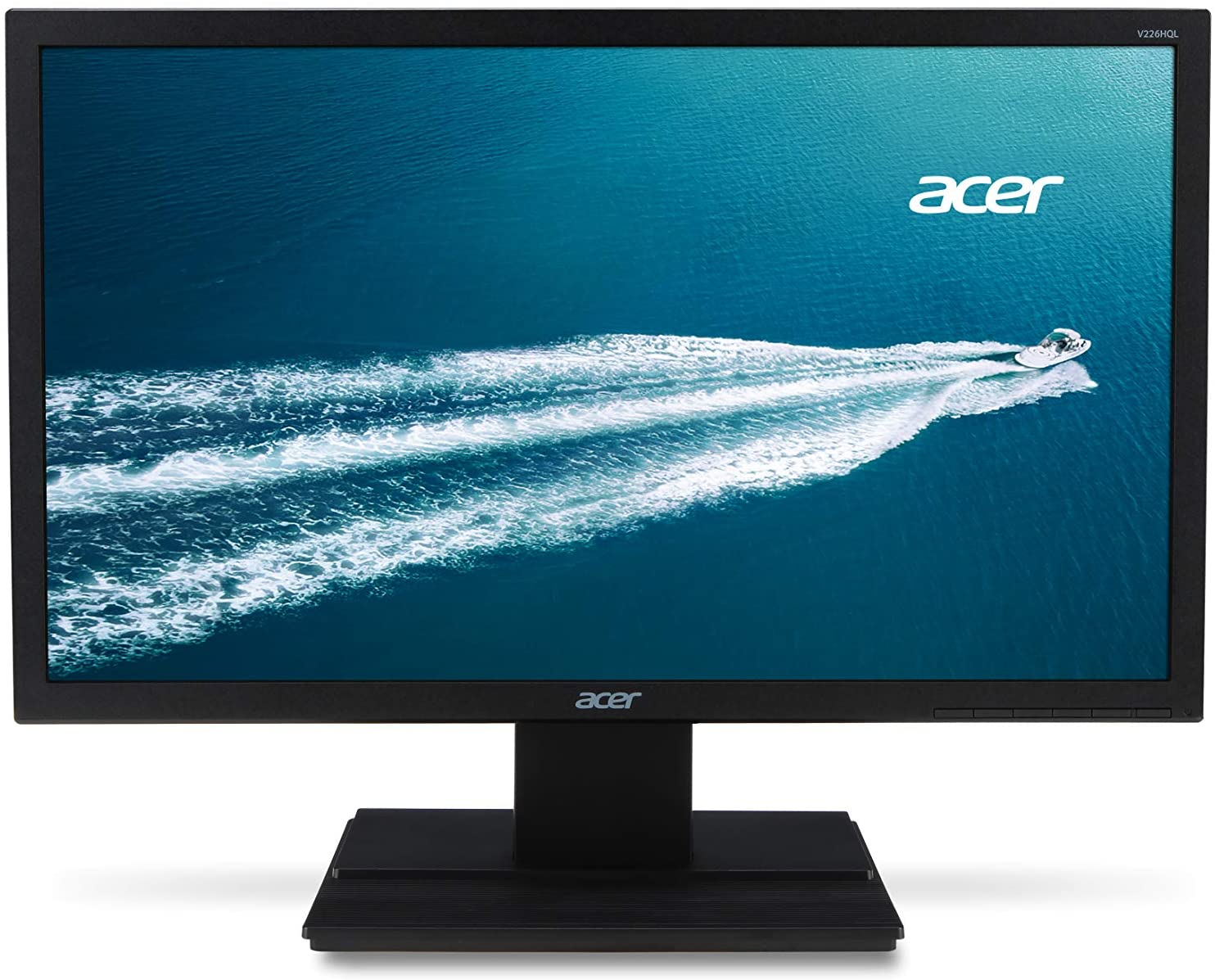 "Acer V226HQL Abp 21.5"" Full HD (1920 x 1080) VA Monitor (Display Port & VGA Port)"