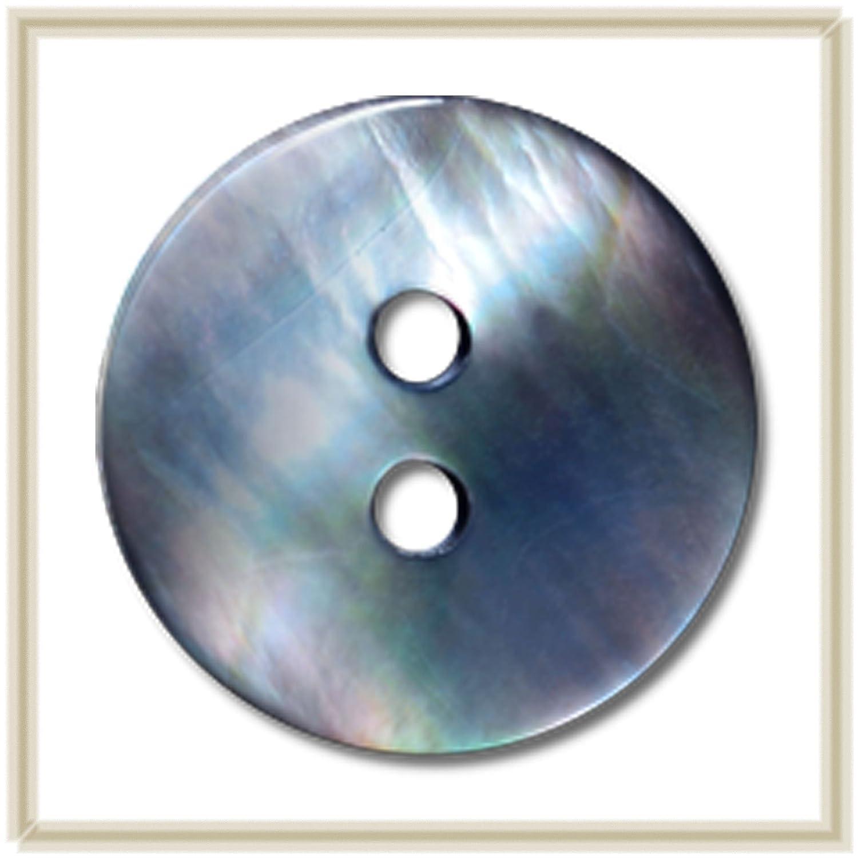 2 agujeros negro labio MOP 11,0 mm paquete de 15 piezas botones para camisa//blusa labio negro Blusa de alta calidad para madre de perla