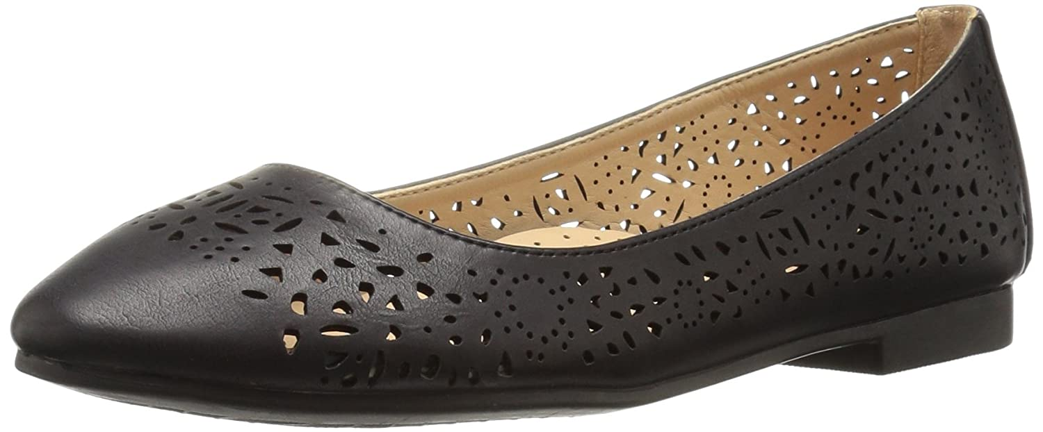 Annie Shoes Women's Esteppe Flat B01GKEBWKG 9.5 B(M) US|Black