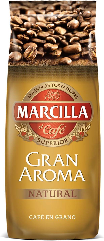 Marcilla Café Grano Gran Aroma Natural - 3 paquetes de 500 gr: Amazon.es: Alimentación y bebidas