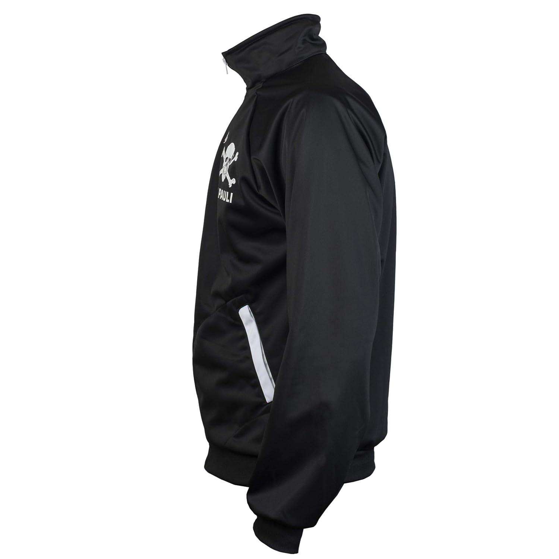 Pauli Black Ultras Skull Kult Crossbones Punk Activist Jacket Football Tracksuit Top St