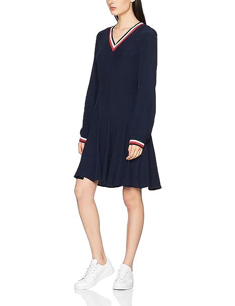 Tommy Hilfiger Josie Dress LS, Vestido para Mujer: Amazon.es: Ropa y accesorios