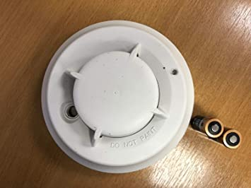 DSC Wireless Photoelectric Smoke Detector with Heat and Rate of Rise