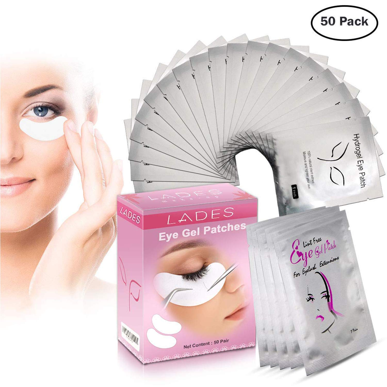 Tools & Accessories Trend Mark 100 Pairs/box Samll Size Eye Pads For Eyelash Extension Lint Free Eye Gel Patches Gold Bag Eye Sticker Make Up Tools Be Novel In Design