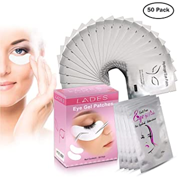92c0fa0add1 Eye Gel Pads - 50 Pairs of Eyelash Lash Extension Under Eye Gel Pads Lint Eye  Patches (50PCS): Amazon.co.uk: Beauty