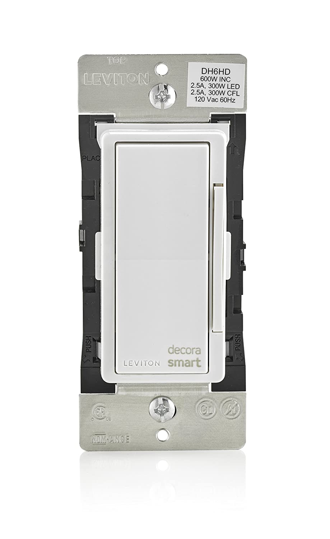 Leviton DH6HD-1BZ 600W Decora Smart Dimmer, Works with Apple HomeKit ...