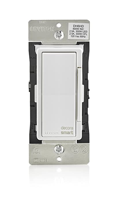 install leviton smart dimmer switch