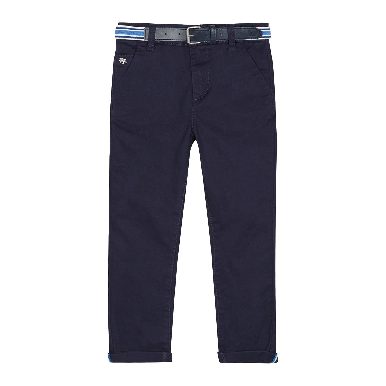 Debenhams J by Jasper Conran Kids Boys Navy Belted Slim Fit Chinos