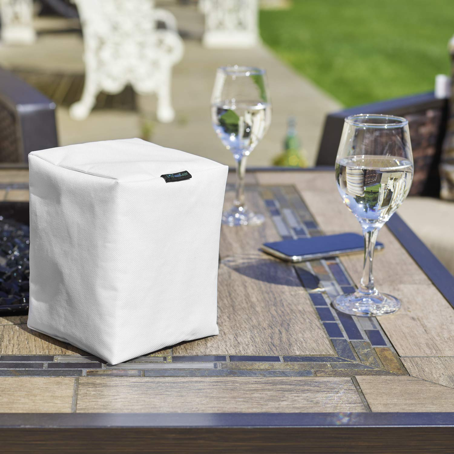 1 Will fit on Mounted Speakers Black Sonos Speaker Cover for Water Dust and Sun Protection Covers for Sonos Play:1 and Sonos One Single