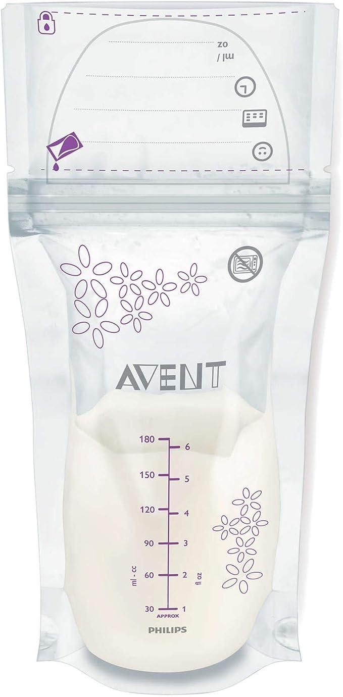 Philips Avent SCF603/25 Breast Milk Storage Bags, 180ml: Buy Online at Best Price in KSA - Souq is now Amazon.sa