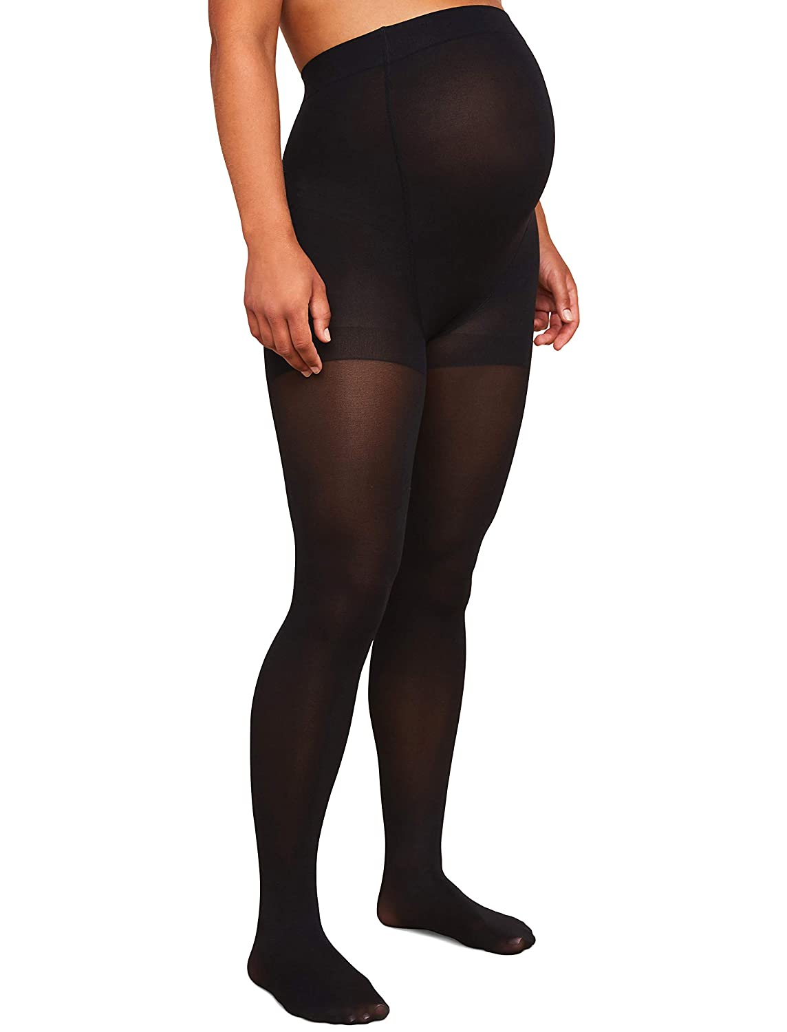 2ce3b1a39c655 Motherhood Maternity Women's Maternity Opaque Tights at Amazon Women's  Clothing store: