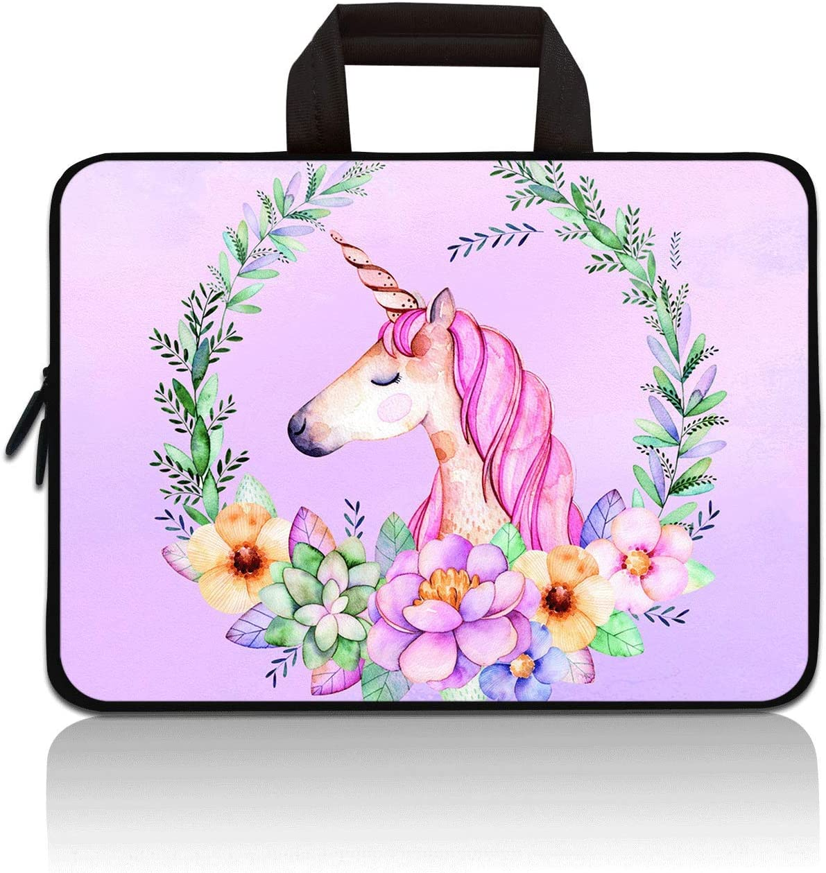 RUYIDAY 11 11.6 12 12.1 12.5 inch Laptop Carrying Bag Chromebook Case Notebook Ultrabook Bag Tablet Cover Neoprene Sleeve Fit Apple Macbook Air Samsung Acer HP DELL Lenovo Asus