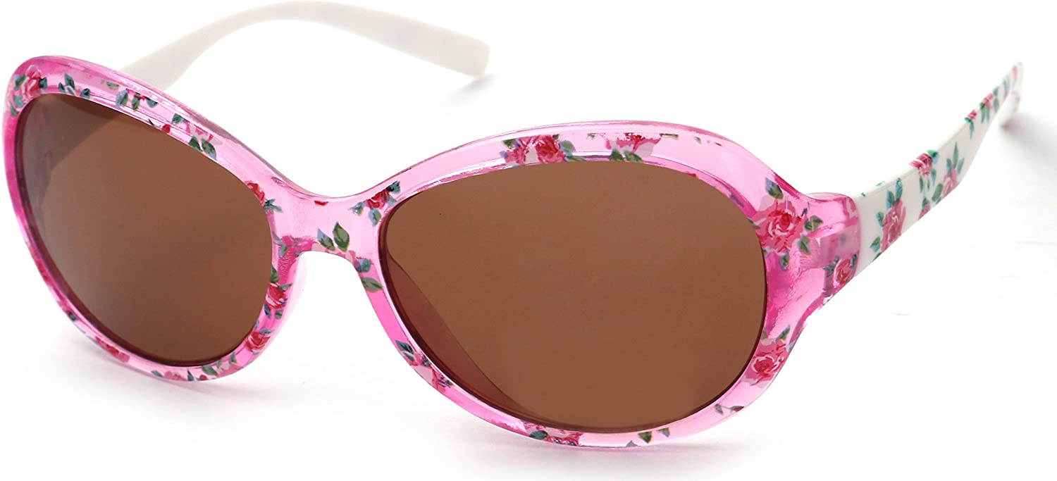 KIDDUS Sunglasses for Girls Age 8 to 12 years old UV400 Protection Comfortable and Secure Useful Gift for Kids