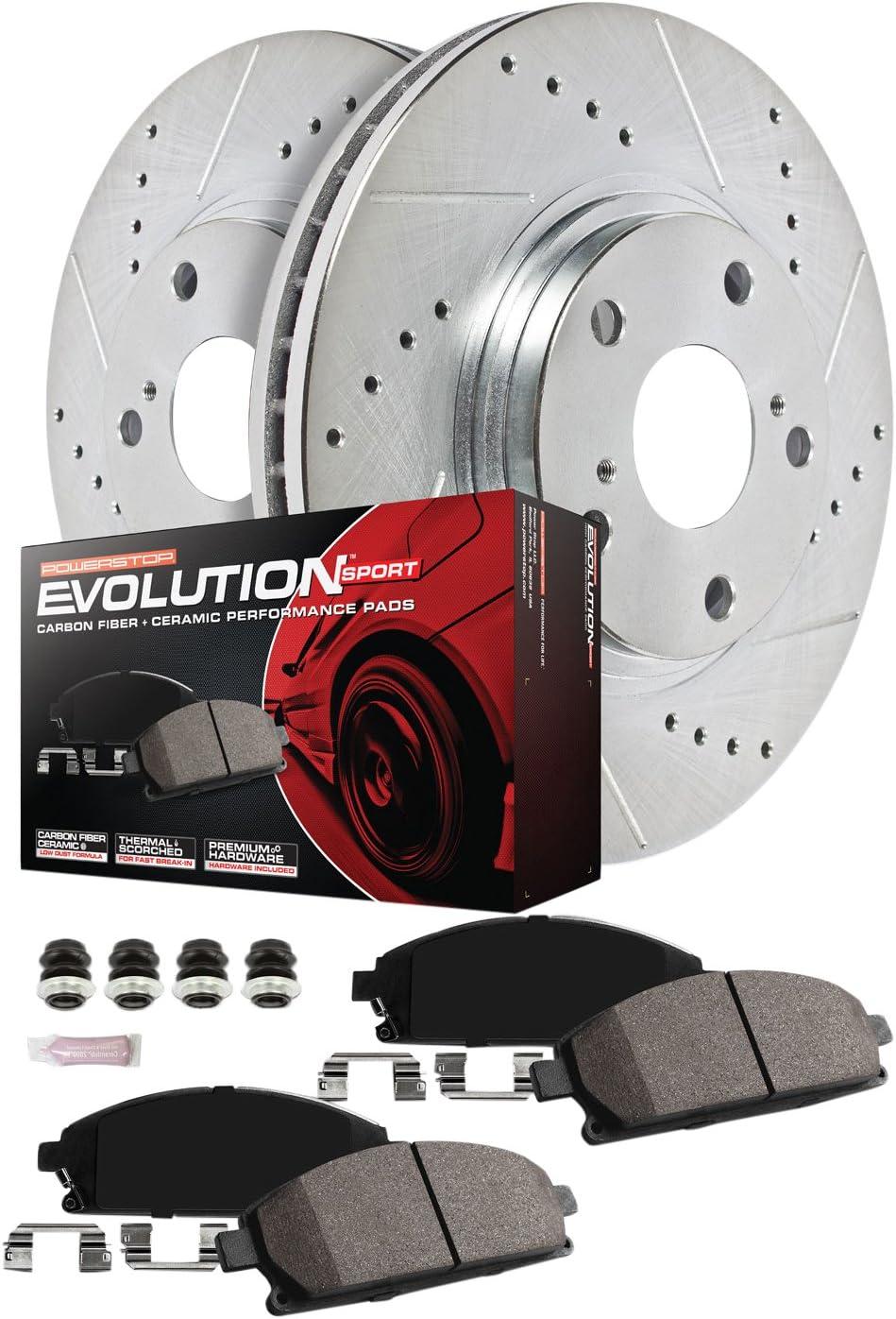 Front Z23 Evolution Sport Brake Pads Power Stop Z23-1081