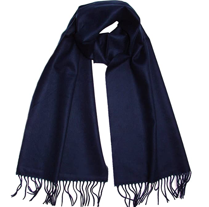 "9717a95d3 Novawo Super Soft Solid Cashmere & Wool Blend Scarf for Men Women,  70""x12"""
