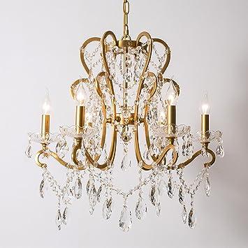 GY Lámparas de Cristal Arañas Elegantes Luces de Techo Araña ...