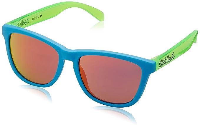 0e87f1b5cf9701 NORTHWEEK - Lunettes de soleil - Homme multicolore Bleu clair Vert brillant