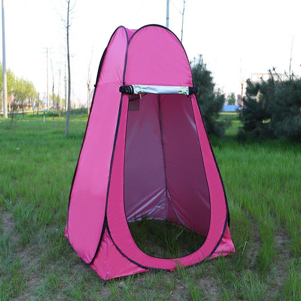 Asdomo Outdoor tragbare Pop Up Private WC-Zelt Camping Strand Instant Dusche Ankleidezimmer ankleidezelt