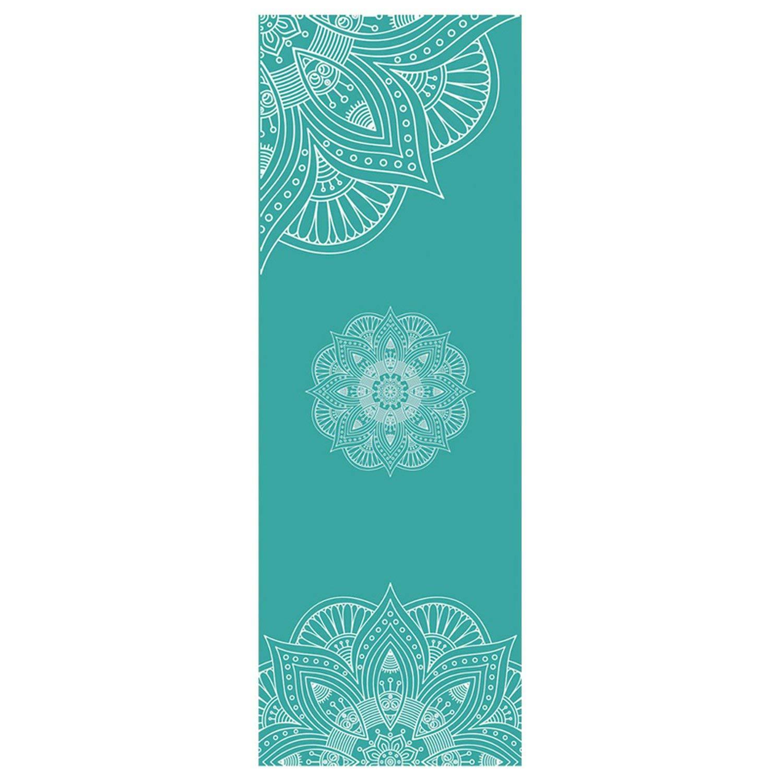 Amazon.com : Aerobic Yoga Mat Towel Pad Microfiber Non Slip ...