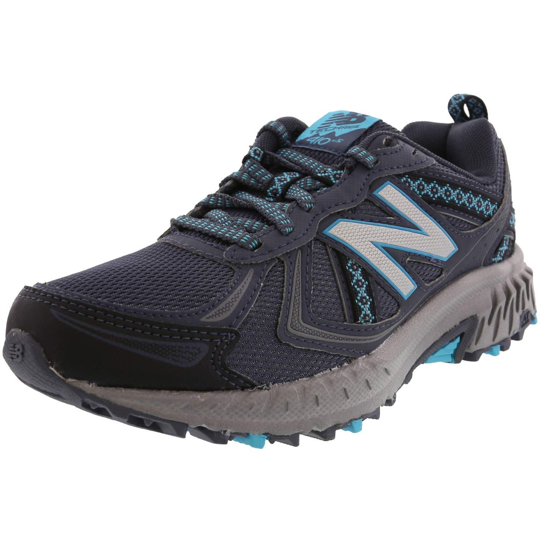 New Balance Women's WT410v5 Cushioning Trail Running Shoe, Grey, 6 B US by New Balance