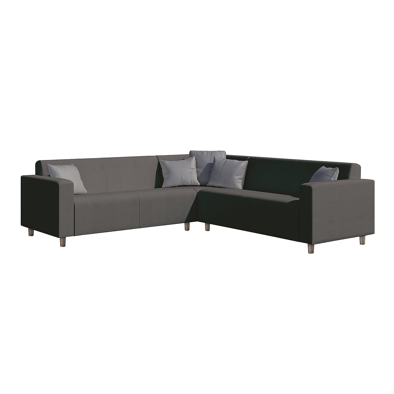Admirable Frejus Graphite Grey Corner Sofa Amazon Co Uk Garden Inzonedesignstudio Interior Chair Design Inzonedesignstudiocom