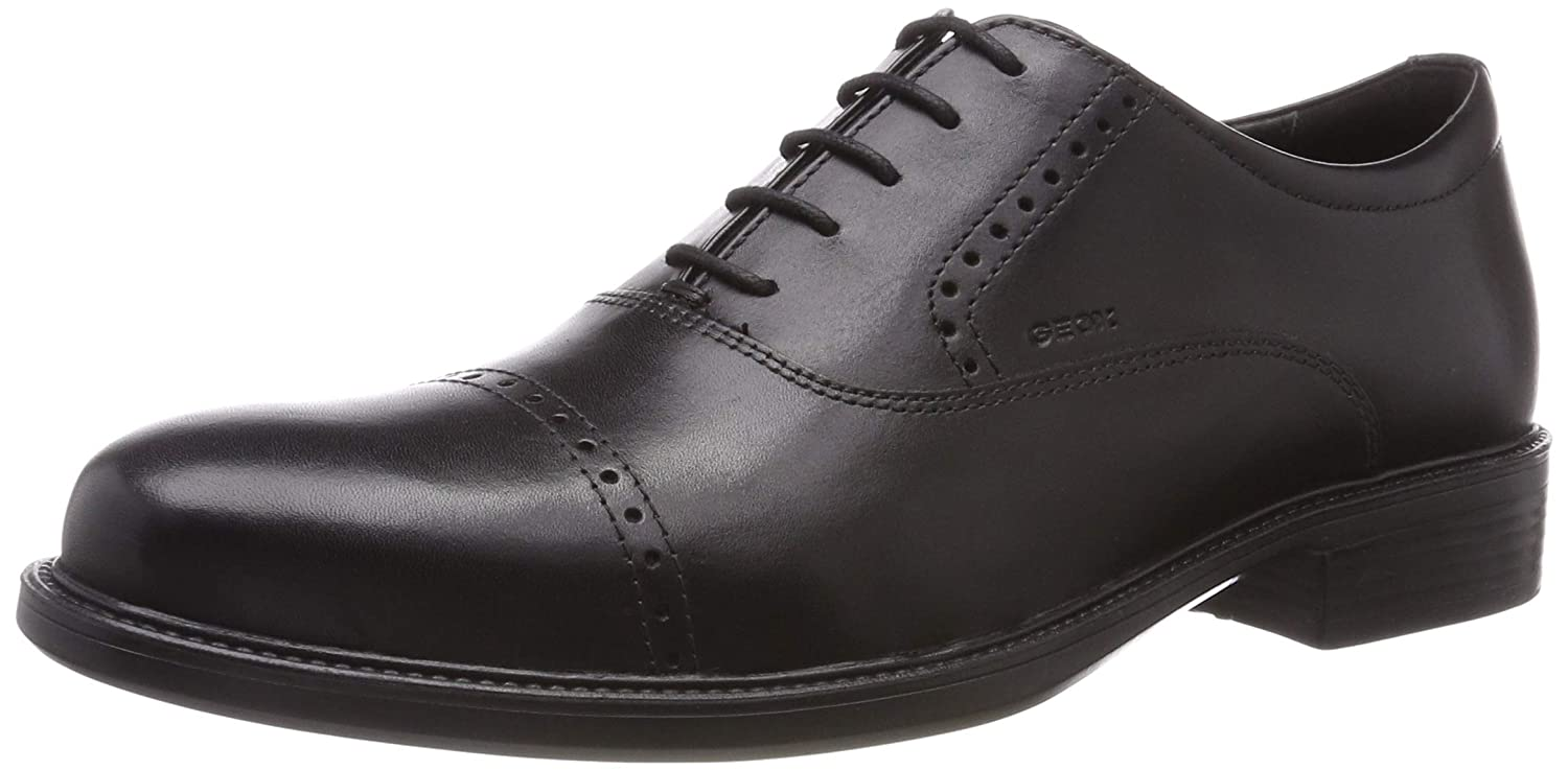 Geox Mens Carnaby Leather Lace Up Oxford Oxford: Amazon.ca