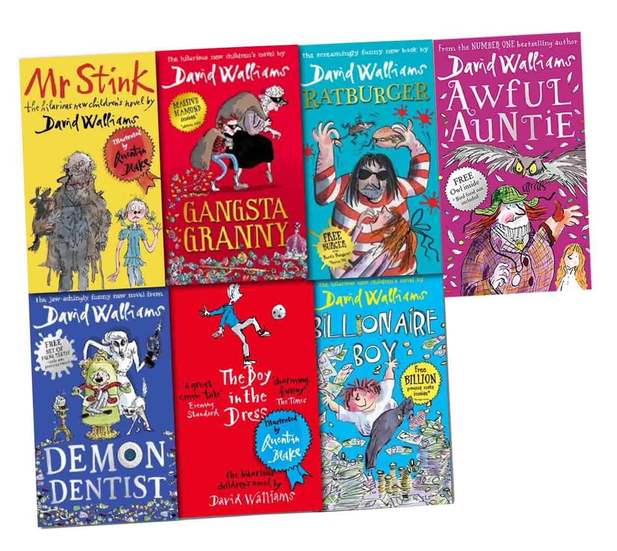 David Walliam Collection 7 Books Pack Set [(Demon Dentist(Hardback ...