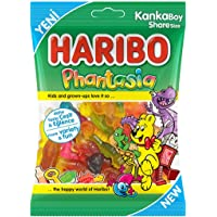 Haribo Halal Phantasia 100g (Meyve Sulu Karisik Yumusak Seker)