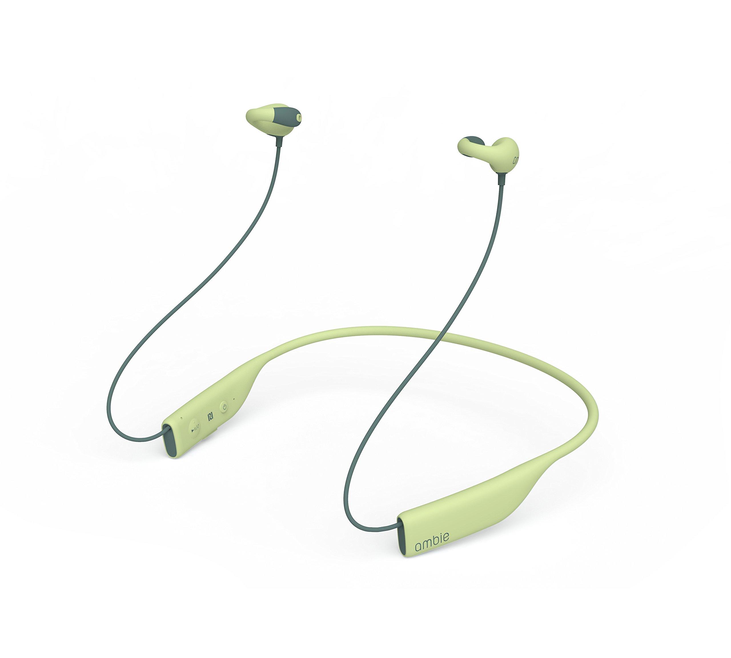 ambie wireless earcuffs(アンビー ワイヤレスイヤカフ) (Cactus Green)