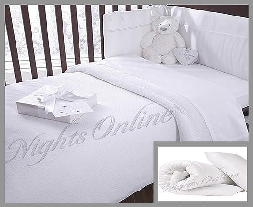 Nursery Baby Junior Toddler Anti Allergy Cot Bed Duvet Quilt  super soft All Tog