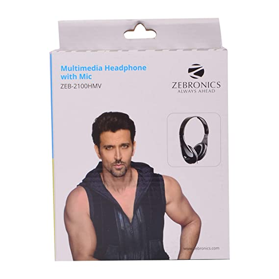 Zebronics ZEB 2100HMV Computer Headphone PC Headsets