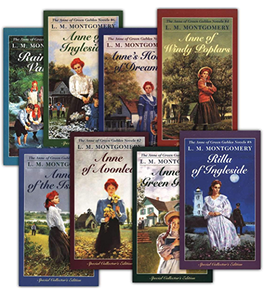 Anne Shirley Complete 8-Book Series : Anne of Green Gables; Anne of the  Island; Anne of Avonlea; Anne of Windy Poplar; Anne's House of ...  Ingleside; Rainbow Valley; Rilla of Ingleside -