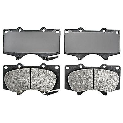 ACDelco 17D976M Professional Semi-Metallic Front Disc Brake Pad Set: Automotive