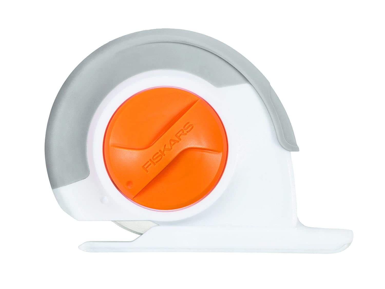 Fiskars Máquina para hacer felpilla tejida, 60 mm, Con Rueda de ajuste Rotatoria, para diestros y zurdos, Gris/Blanco/Naranja 1023906: Amazon.es: Hogar