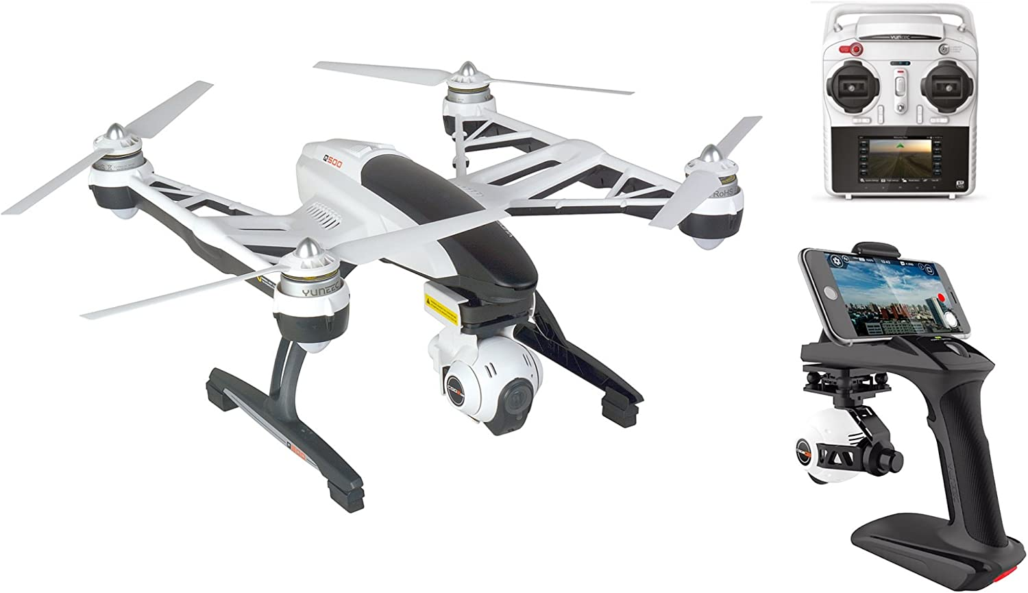 Yuneec Q500 Typhoon Multicopter Set Including Camera Photo