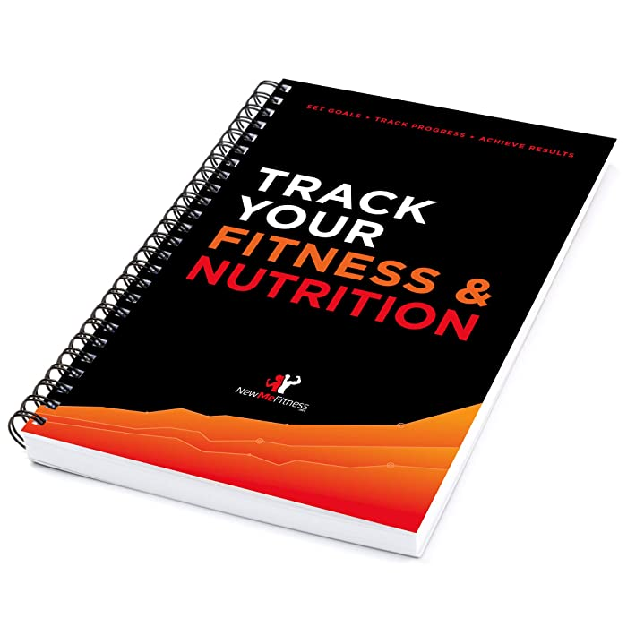 Workout/Fitness and/or Nutrition Journal/Planners - Designed by Experts, w/Illustrations : Sturdy Binding, Thick Pages & Laminated, Protected Cover