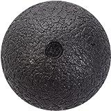 Hjuns Selbstmassage-Ball schwarz für die Faszien in verschiedenen Größen - Triggerpunkttherapie von Nacken, Rücken, Arme und Wade
