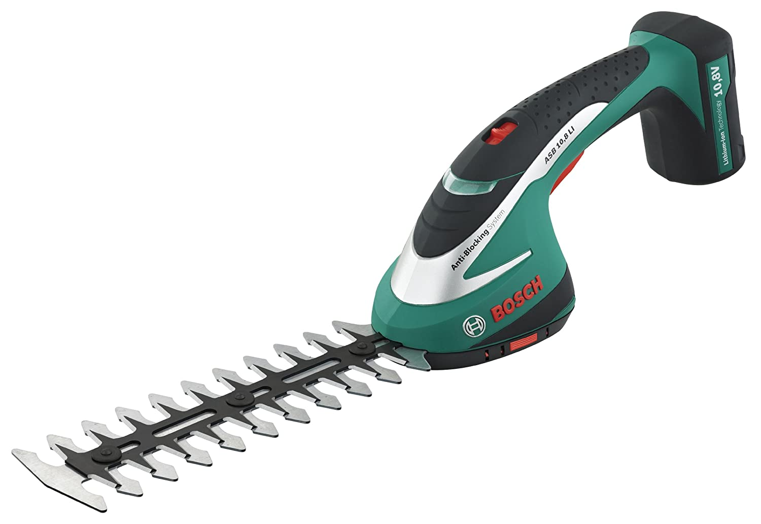 Bosch ASB 10.8 LI Cordless Shrub Shear with Integrated 10.8 V Lithium-Ion Battery 0600856370 hedgesheers Power_Tools_ Trimmers / Edgers