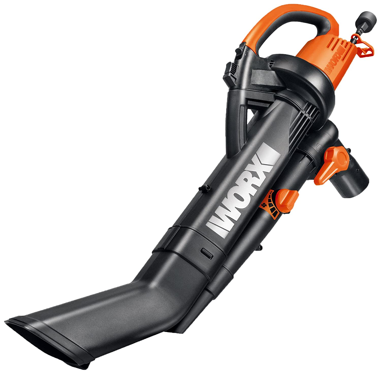 "WORX WG505 Blower, 9"" x 15"" x 20"" Orange and Black"