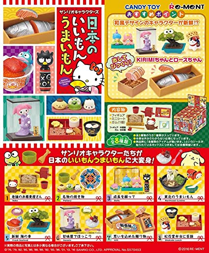 Re-ment Sanrio Dollhouse Hello Kitty I Love Cooking in Kitchen Full Set.. Japan