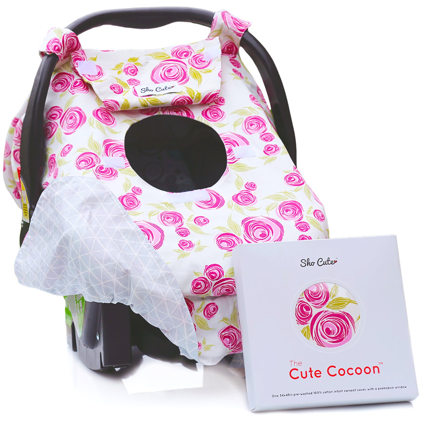 Amazon Com Sho Cute Reversible Carseat Canopy All
