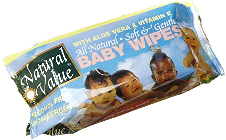 Review Natural Value Baby Wipe
