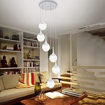 Buona Deckenlampe Modern Eisen 6 Creative Doppel Geschäft Kleidung ...