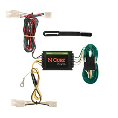 CURT 55309 Vehicle-Side Custom 4-Pin Trailer Wiring Harness for Select Kia Sedona: Automotive