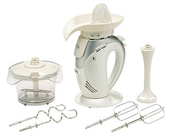 Mia MX3120 - Juego de batidora de vaso y accesorios 4 en 1