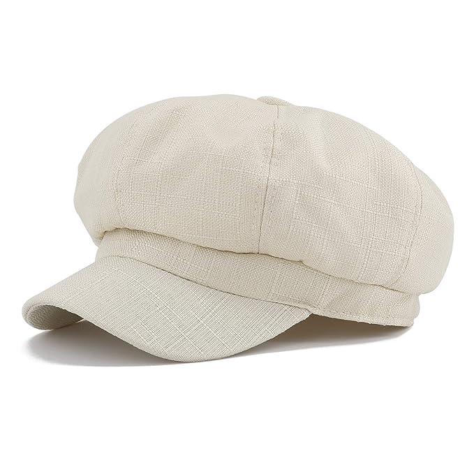 design professionale acquisto speciale prezzo all'ingrosso Gisdanchz Estate Ottagonale Cappello Stile Semplice Cappello Donna con  Visiera