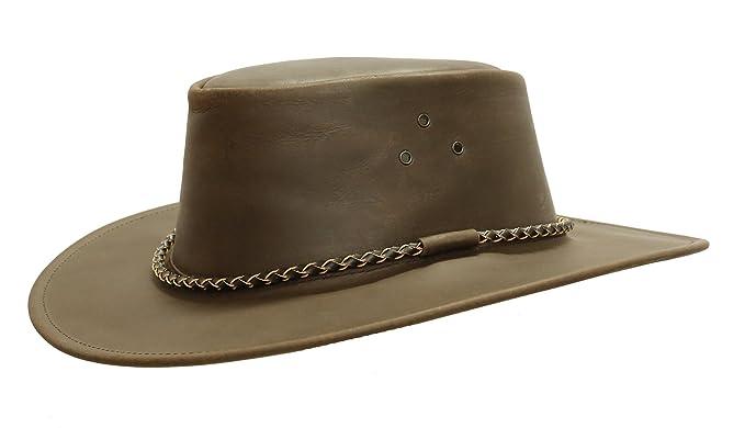 Kakadu Traders Australia - Sombrero Cowboy - para Hombre marrón marrón Small 15582a174c8