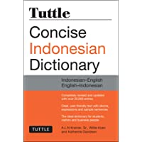 Tuttle Concise Indonesian Dictionary: Indonesian-English English-Indonesian (Tuttle Concise Dictionaries)