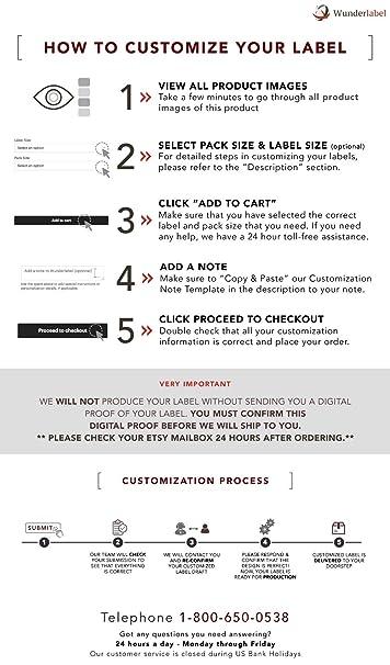 Amazon com: Wunderlabel Personalized Custom Customize Roll